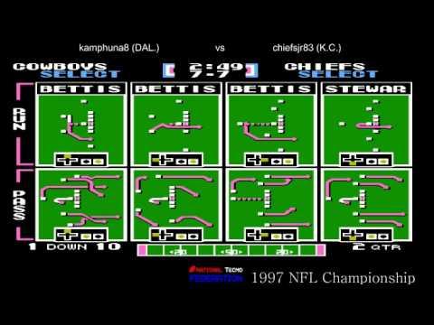 NTF 1997 NFL Championship Dallas Cowboys 10-0 vs Kansas City Chiefs (chiefsjr83) 8-2