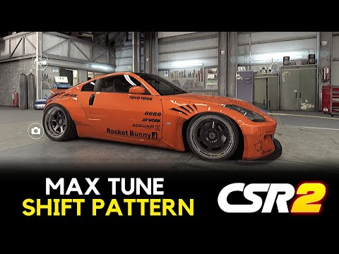 CSR2 | Nissan Fairlady Z - Max Tune+Pattern 10.039 + Stable Launch For SD Or Live Race