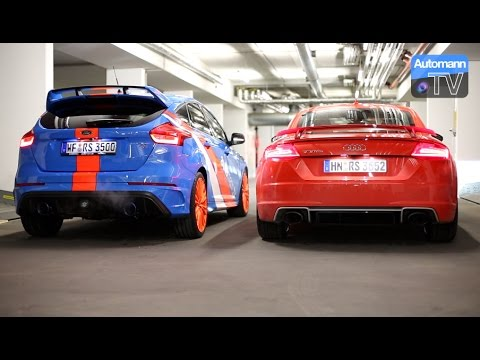 Focus Rs Ego X Audi Tt Rs Rev Sounds 60fps Youtube