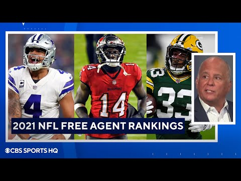 Who's the best free agent available?  2021 NFL Free Agency  CBS Sports HQ