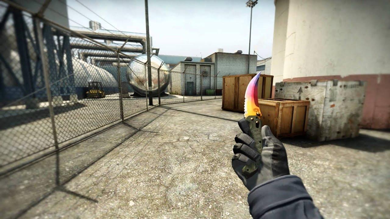 Flip knife fade FN (Full fade)