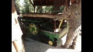 Home Built Saw Mill In Action