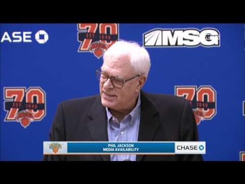 Phil Jackson Press Conference - April 14th, 2017 (Full Version) | New York Knicks | MSG Networks