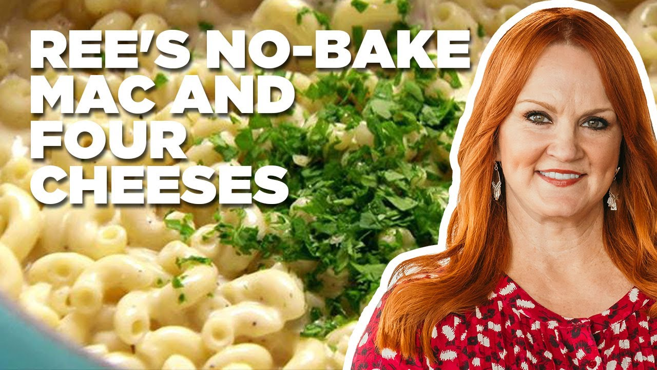 How To Make Ree S No Bake Mac And Four Cheeses Food Network Youtube