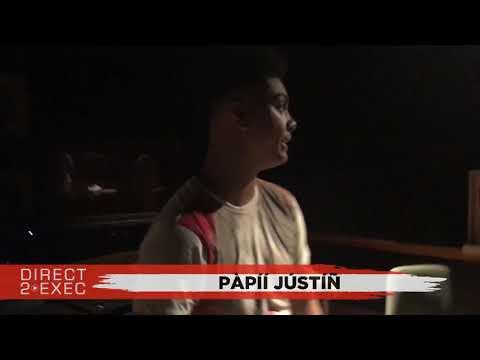Pàpíí Jústíñ (@demetre_lee) Performs at Direct 2 Exec Los Angeles 8/8/17 - Atlantic Records