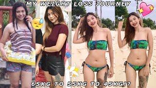 PAANO PUMAYAT IN 1 WEEK NG WALANG EXERCISE?! MY WEIGHT LOSS JOURNEY | Angelika Faith