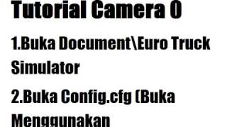 Tutorial Setting Camera 0 Di ETS2