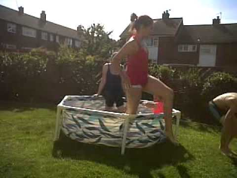 sunny day with the pool out xxxxxxxxx