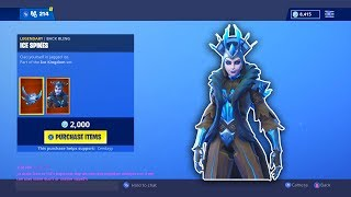 "*NEW* ""Ice Queen"" SKIN And The SCYTHE IS BACK! Fortnite ITEM SHOP [January 19th, 2019] 