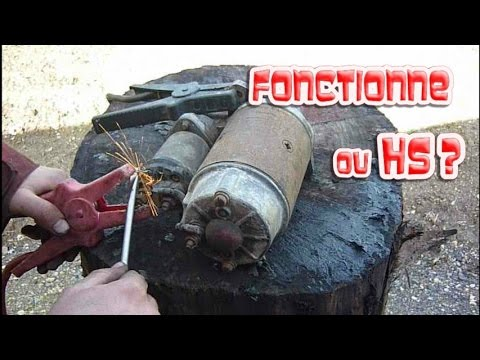 How to checkif my starter motor is still alive?