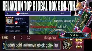 TOP GLOBAL AKAI BACOTIN NANA KETIKA LORDNYA GUA CURI - TOP GLOBAL NANA VS TOP GLOBAL AKAI