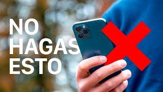 Top 10 cosas que no debes hacer en iPhone