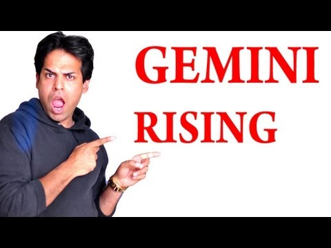 All About Gemini Rising sign & Gemini Ascendant In Astrology