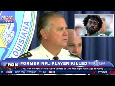 FULL NEW CONFERENCE: Sheriff Normand-Gunman Arrested in Road Rage Killing of Joe McKnight (EXPLICIT)