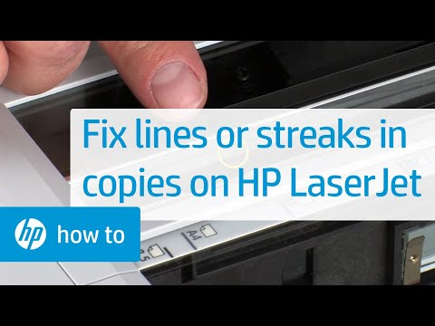 Lines or Streaks When Copying -- HP LaserJet MFPs | HP Printers | HP