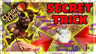 SECRET TRICK in Clash Of Clans Town Hall 12 Update Gameplay STRATEGY!