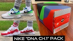 """NIKE """"DNA CH.1"""" PACK!!! EARLY REVIEW & ON FOOT!!!! FIRST ON YOUTUBE‼️ (AIR MAX 1 & AIR HUARACHE RUN)"""