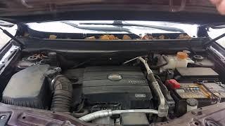 Звук дизельного двигателя Шевроле Каптива