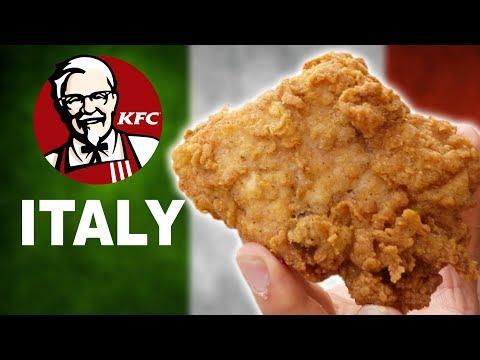 WE TRY KFC ITALY