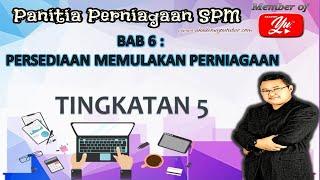 SPM Perniagaan (3766) | B6 Persediaan Memulakan Perniagaan