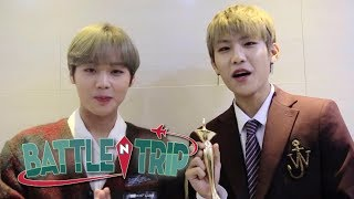 Ji Hoon & Woo Jin Received the Hottest Issue Clip! [Battle Trip Ep 122]