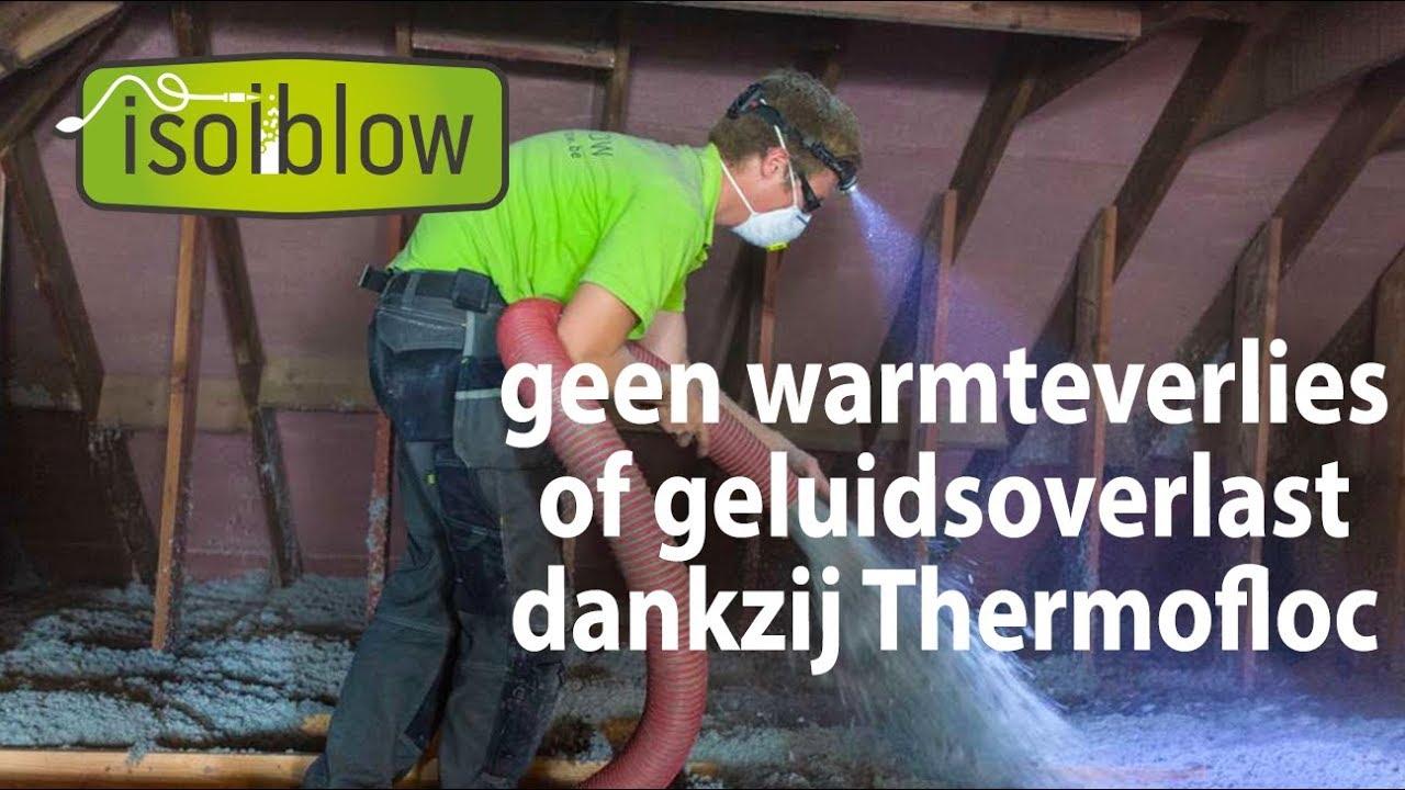 Isolatie met Thermofloc - Isolblow isoleert jouw woning