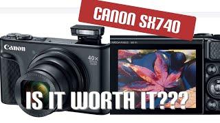 Canon SX740 review