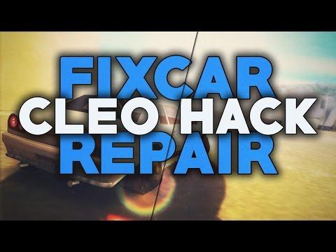 [SAMP 0.3.7] CLEO Car Repair - FIX Damaged Vehicle ● Belciuu