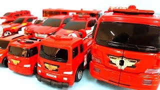 빨간색 레드 헬로카봇 또봇 R 트랜스포머 미니특공대 로봇 변신 자동차 장난감 동영상 Red Color robot car toys Transformation