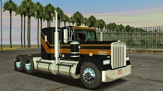 Kenworth W900 Doble Remolque Articulado | 18 Wheels Of Steel Haulin