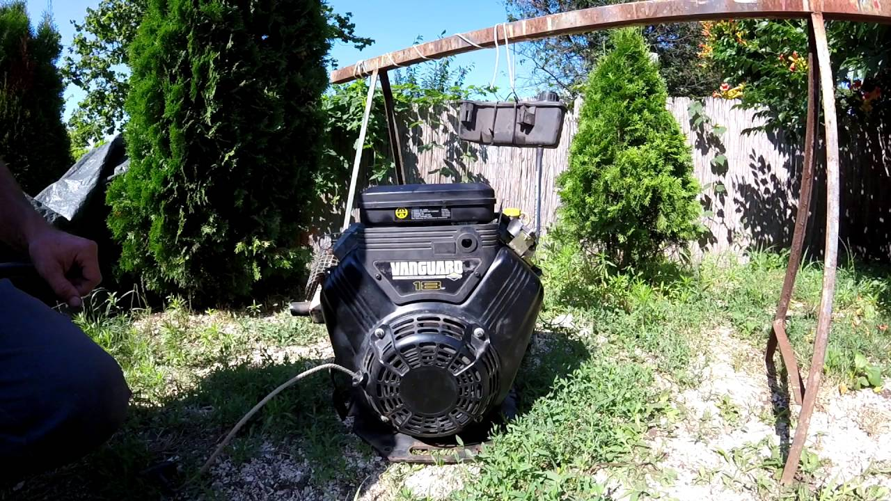 Briggs Stratton Vanguard 18hp After Rebuild Youtube