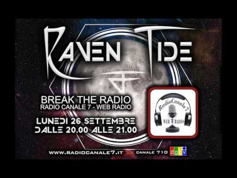 Raven Tide @ Break The Radio / Radio Canale 7 (interview)