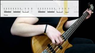Muse - Reapers (Bass Cover) (Play Along Tabs In Video)