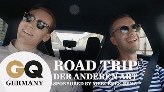 Matze Hielscher & Rick Okon: Roadtrip mit dem Mercedes-Benz CLA Coupé durch München