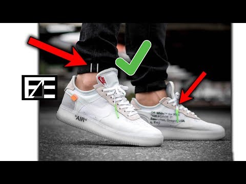 How to PROPERLY STYLE NIKE AIR FORCE 1s