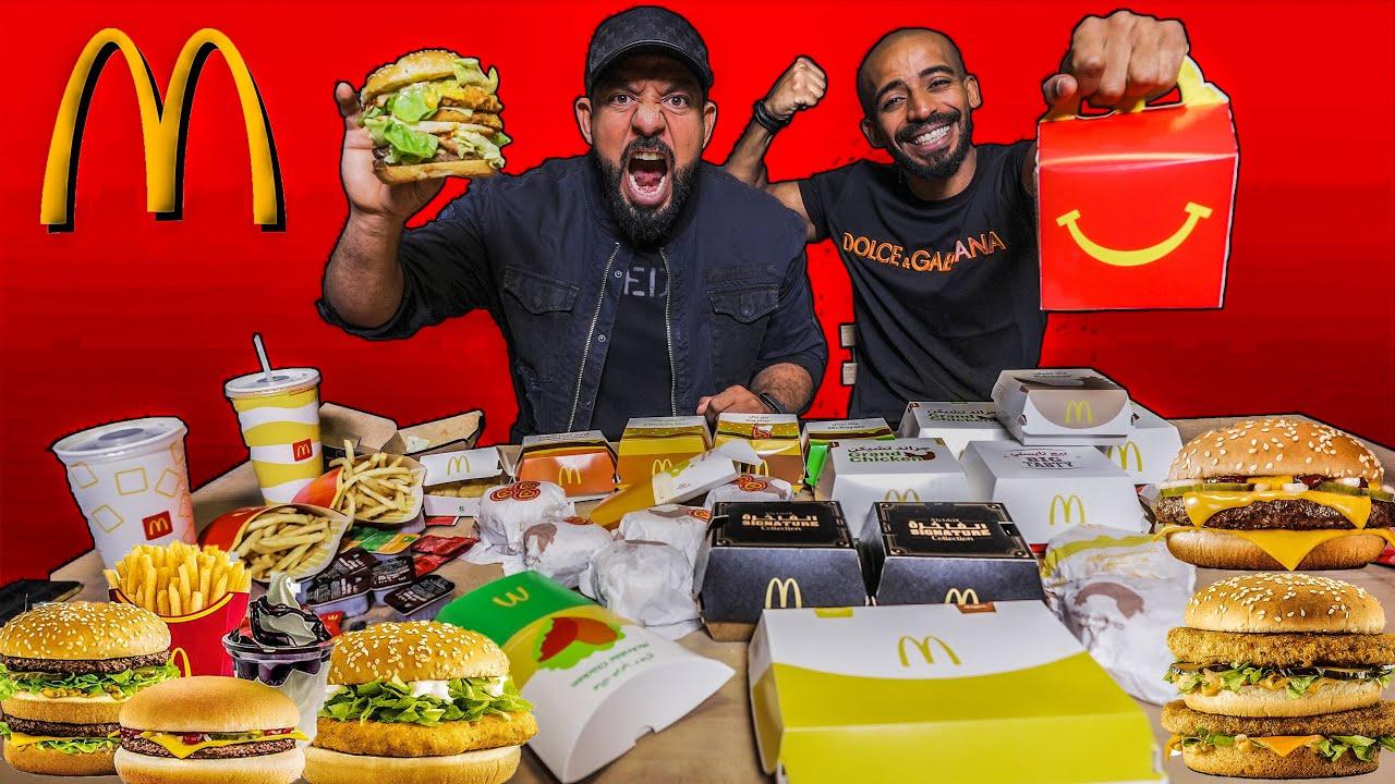 Download تحدي منيو كامل ماكدونالدز 🍔 Mcdonalds Full Menu Challenge