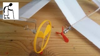 New Propellers for my styrofoam planes