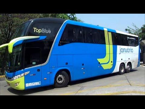 Ônibus saindo rodoviária Tietê#6 - Setembro 2016 - Bus Station Brazil