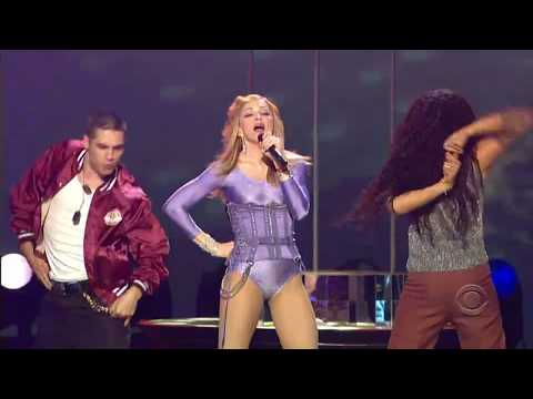 Gorillaz ft. Madonna - Feel Good Inc & Hung Up live at Grammy Awards 2006