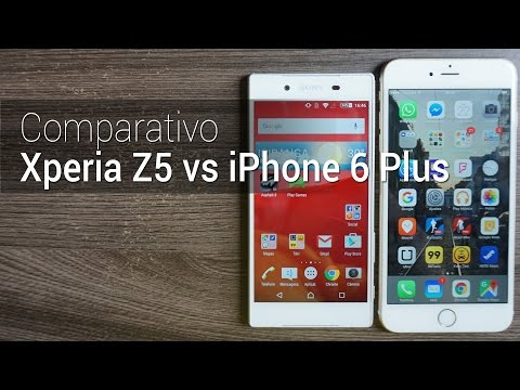 Comparativo: Xperia Z5 vs iPhone 6 Plus | Tudocelular.com