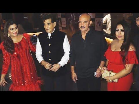 Jeetendra & Rakesh Roshan At Gurpreet Kaur Chadha Birthday Bash