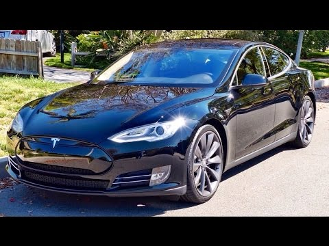Tesla Model S P Review And Test Drive YouTube - 2014 tesla model s