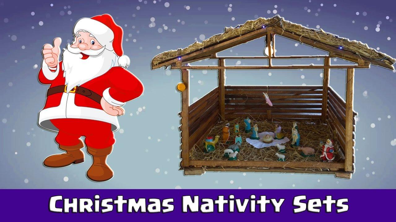 Making a Christmas Crib Nativity Set - DIY - YouTube