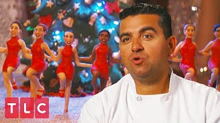 Buddy Makes a Cake for the Rockettes! | Cake Boss