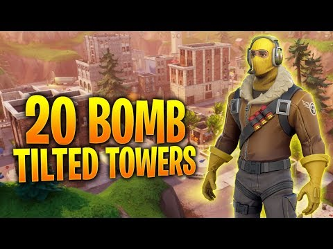 20 BOMB SOLO WIN TITLED TOWERS | Fortnite Battle Royale