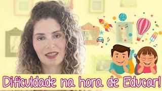 Desabafo sobre educação dos filhos | Mariana Bonnás