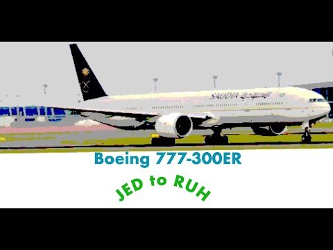 Saudi flight from JED/RUH 777-300ER first class
