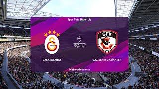 PES 2020   Galatasaray vs Gaziantep - Super Lig   21/06/2020   1080p 60FPS