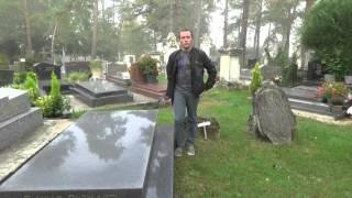 Tombe de Jean Richard au cimetière d