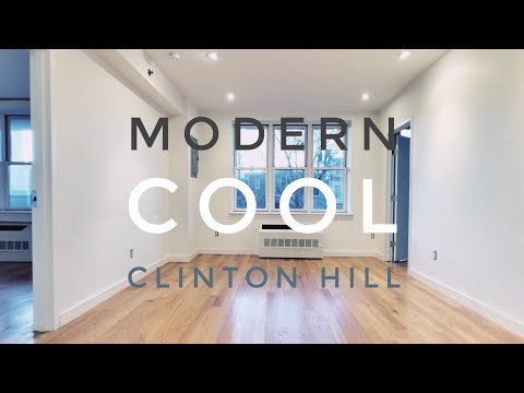 Cool Modern Apartment with All Bells & Whistles in Clinton Hill! Video Tour NYC Brooklyn NY